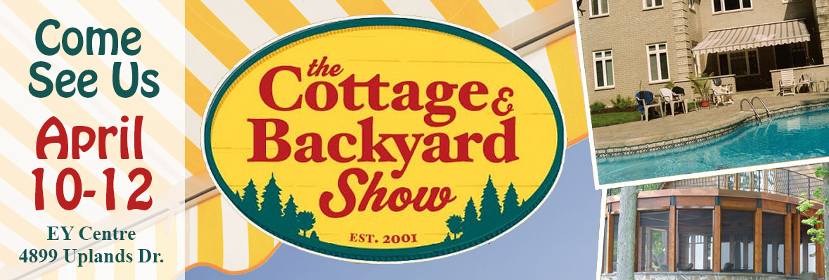 The Cottage and Backyard Show Banner