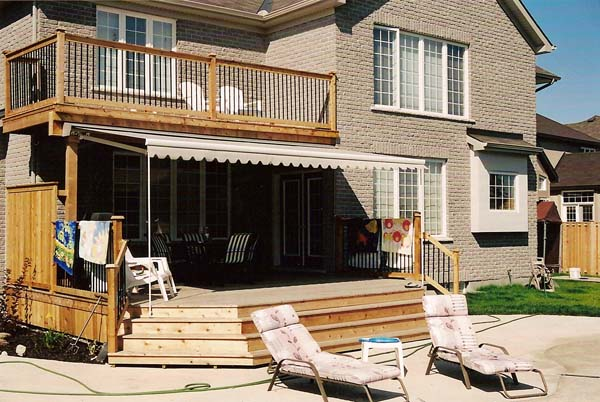 Backyard Retractable Awning