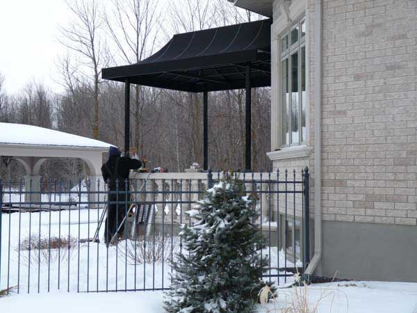 covered awning